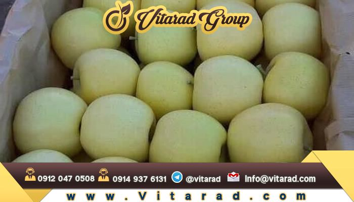 Exports apples from iran